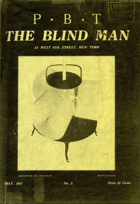 The Blind Man (1917) was one of the first Dada journals in t