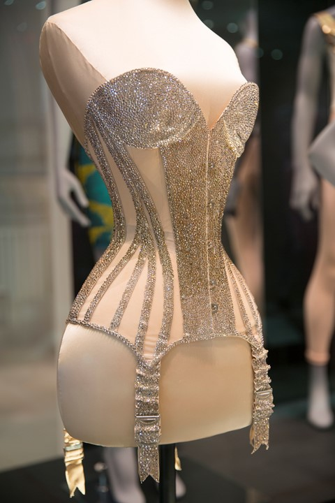 b0a1eea1ed 7. Installation view of Undressed A Brief History Mr Pearl corset ...