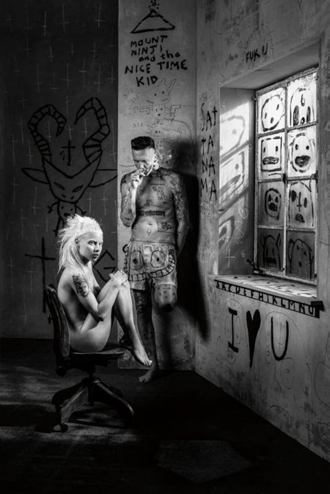 Die Antwoord get down and dirty on new song 'Bum Bum'
