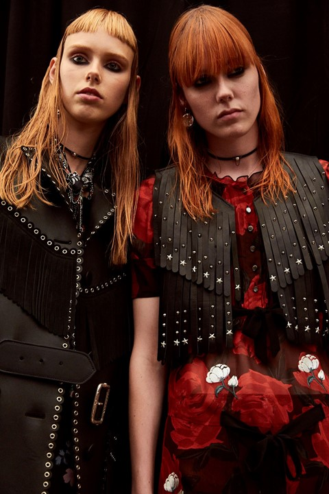 Coach SS17 womenswear NYFW Dazed backstage