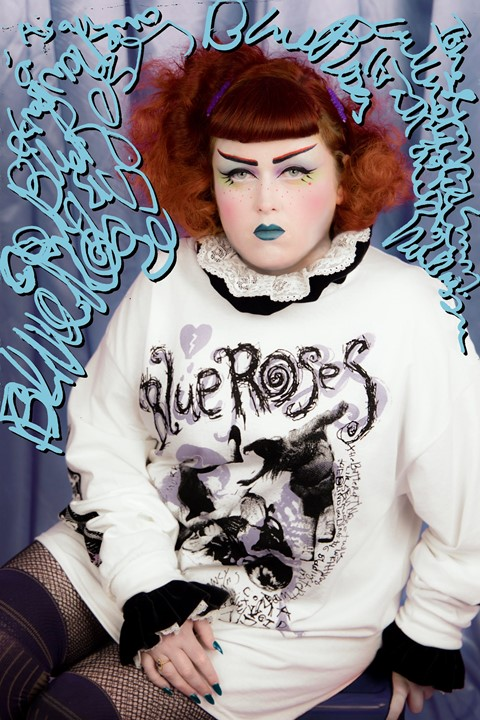 Blue Roses Edward Meadham Dazed Ione Gamble