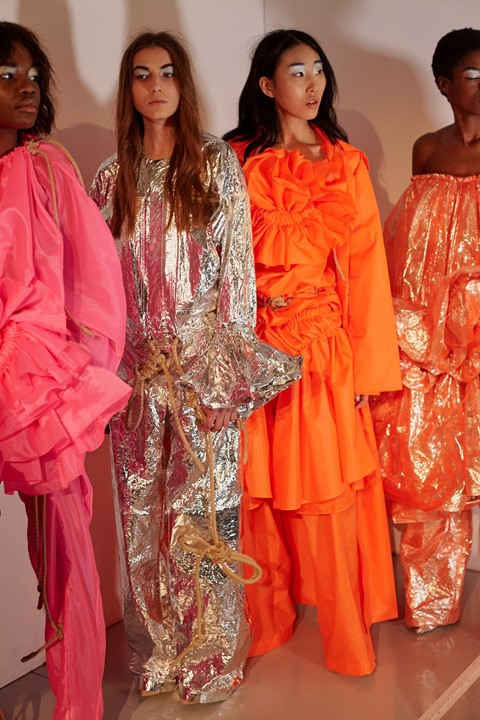 CSM MA17 womenswear london lfw Dazed
