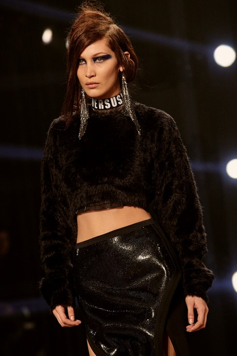 Versus Versace AW17 womenswear London LFW dazed