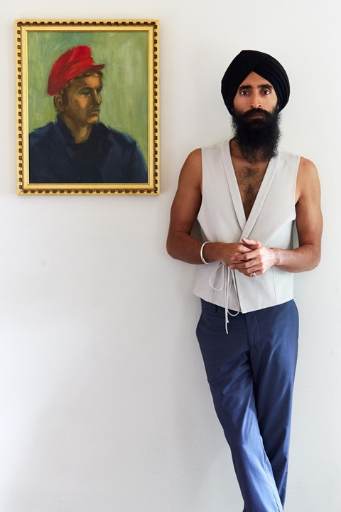 Waris Ahluwalia x The Kooples Dazed