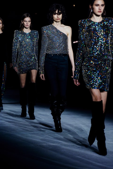 Saint Laurent AW17 dazed pfw Anthony Vaccarello