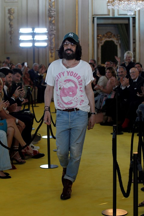 alessandro michele gucci cruise florence guccify