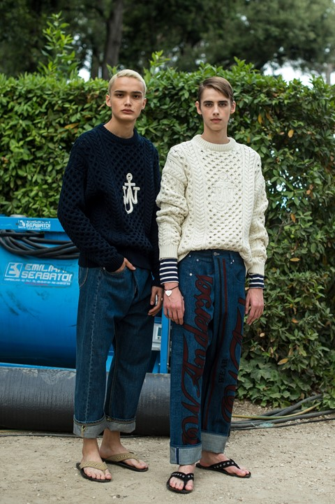 jw anderson ss18 florence pitti uomo guest designer