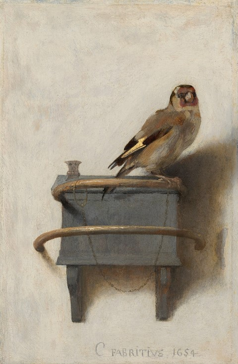 "Carel Fabritius ""The Goldfinch"""