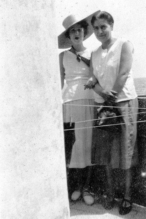 Dorothy Todd and Madge Garland