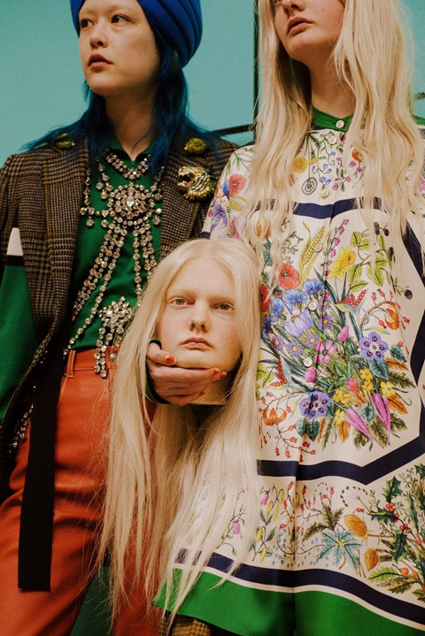 Gucci AW18 mfw milan fashion week alessandro michele