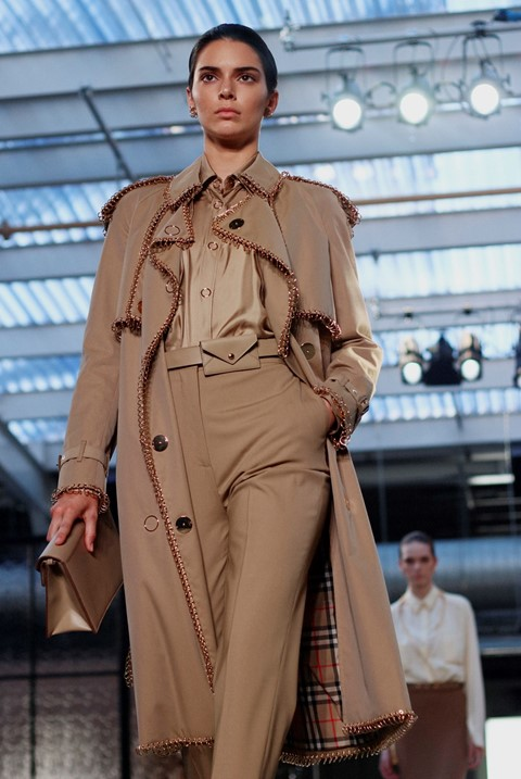 Burberry SS19 Riccardo Tisci debut LFW London Fashion Week