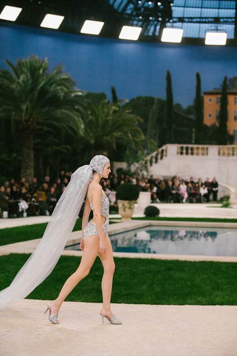 Chanel Bride SS19 Couture Paris Karl Lagerfeld Vitto Ceretii