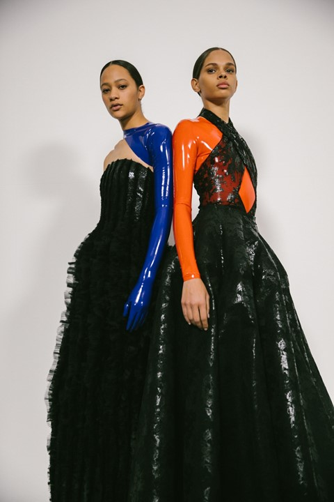 givenchy ss19 couture clare waight keller paris pfw