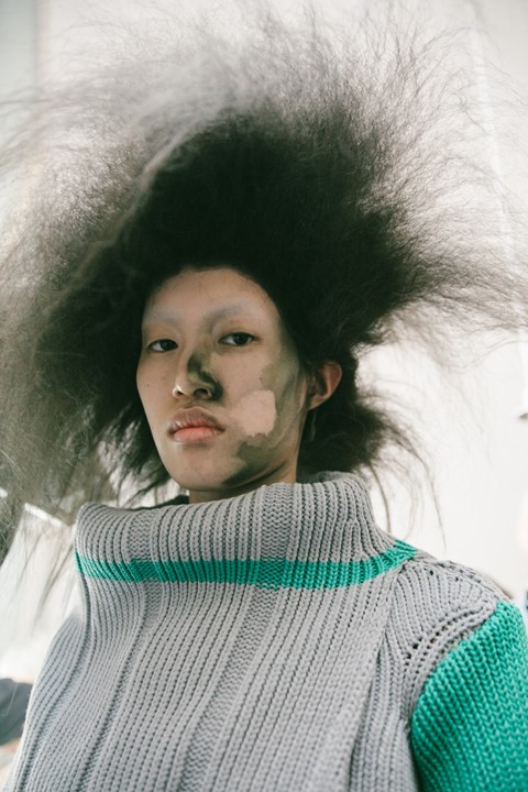 Dazed Beauty Kiko Kostadinov AW19