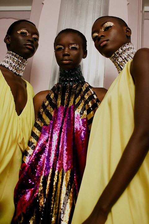 Dazed Beauty Halpern AW19