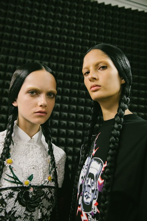 Dazed Beauty Prada AW19