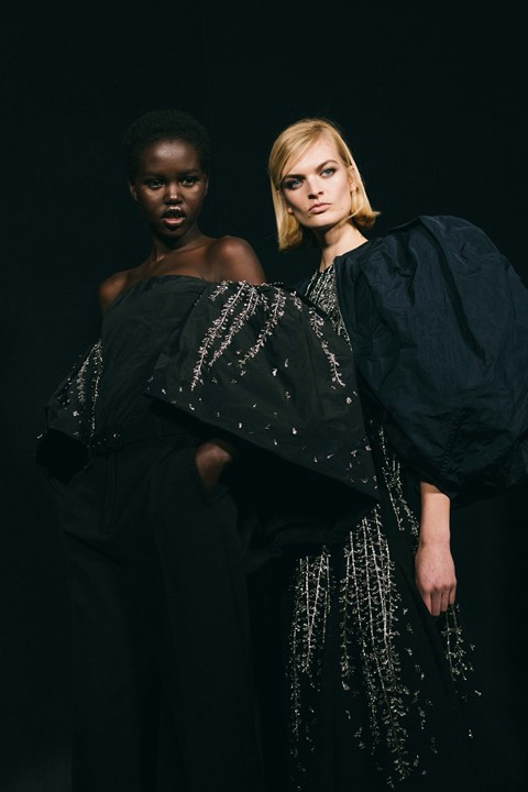 Givenchy AW19 Clare Keller PFW Paris Fashion Week Adut Akech
