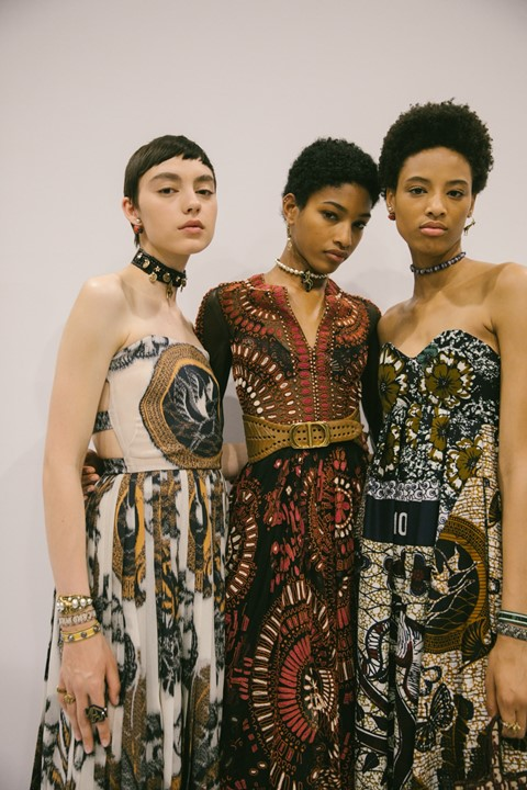 Dior teams up with Grace Wales Bonner for its latest Cruise show ...