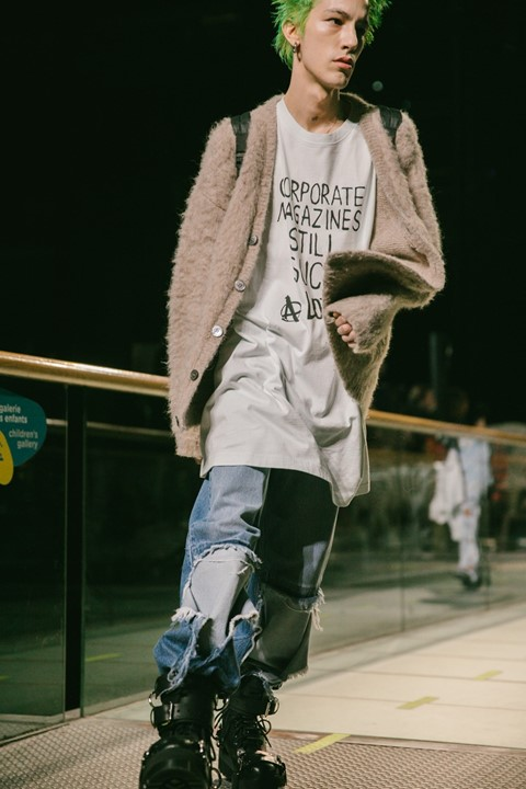 The Nirvana inspired Vetements t-shirt