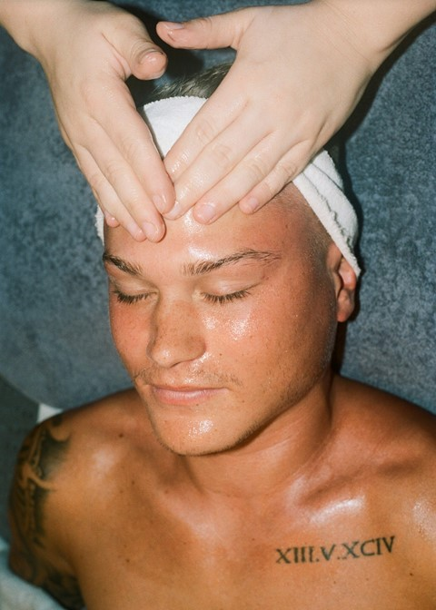 essex male beauty spa treatment hazel gaskin