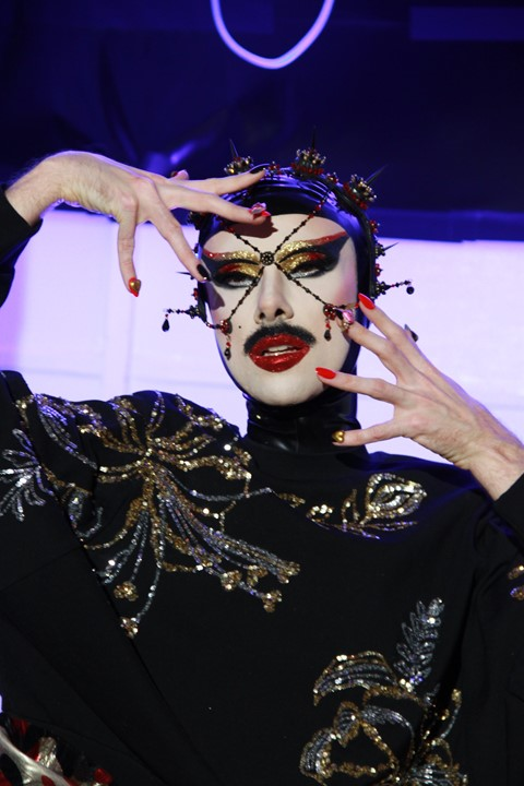 Manish Arora's SS20 show was an celebration of eclectic drag beauty