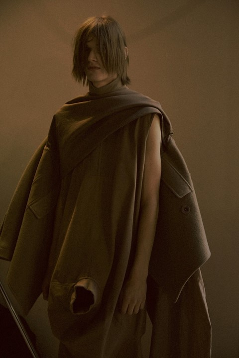 Rick Owens AW15 collection Baby Yoda