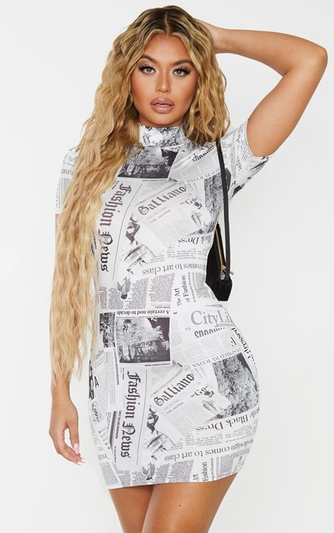 PrettyLittleThing newspaper collection 8