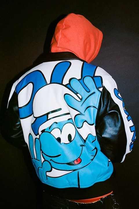 Supreme joined forces with The Smurfs