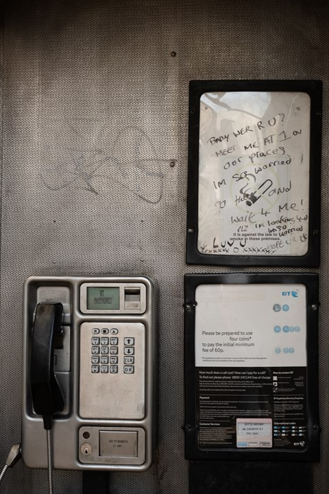Telephone Booths, Samuel Ryde (2020-ongoing)