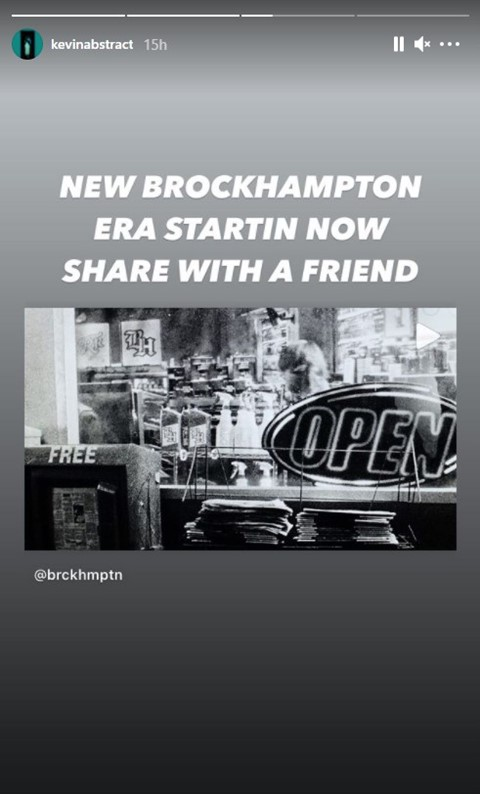 Kevin Abstract Roadrunners Instagram story