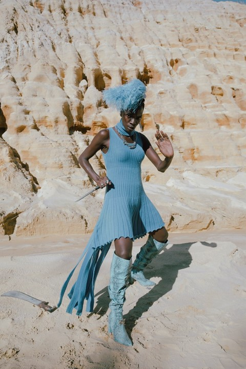 Thebe Magugu AW21 collection by Kristin-Lee Moolman