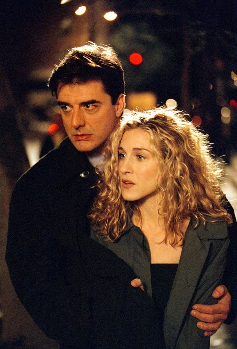 Mr Big and Carrie in Sex and the City