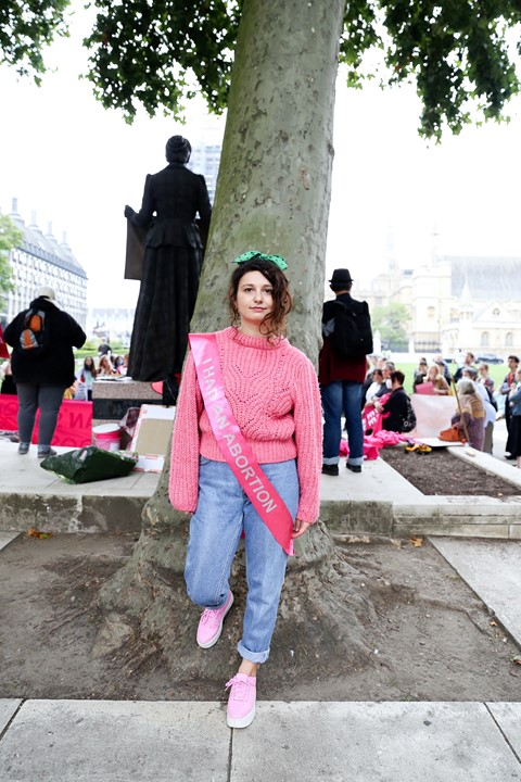 Texas abortion ban protest in London 19