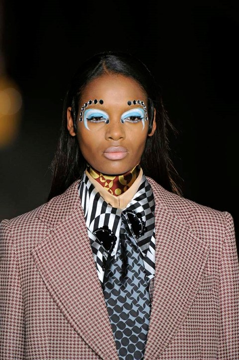 Make-Up by Pat McGrath for Miu Miu Womenswear A/W1