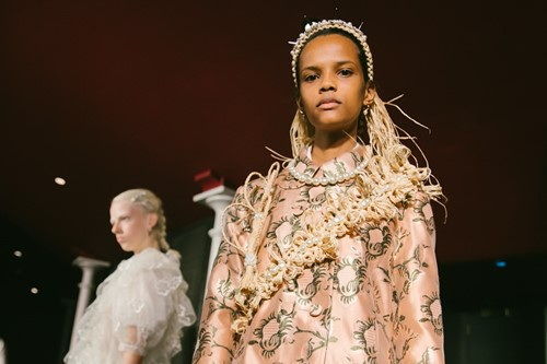Simone Rocha took over an abandoned theatre for her SS20 show