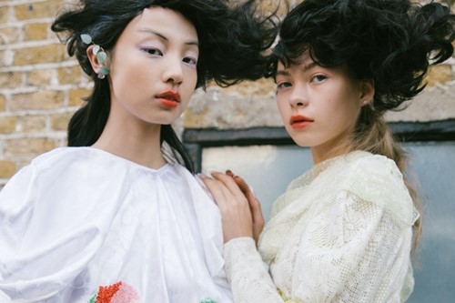 Yuhan Wang presents her final collection as part of Fashion East