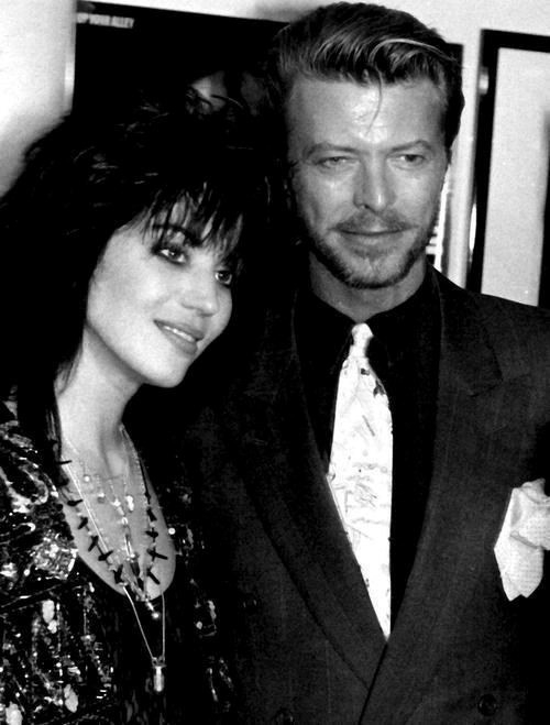Joan Jett and David Bowie