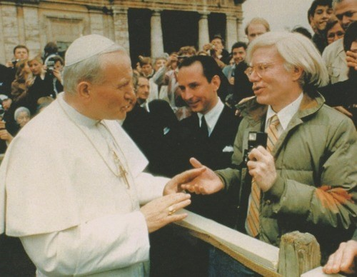 Andy Warhol and the Pope