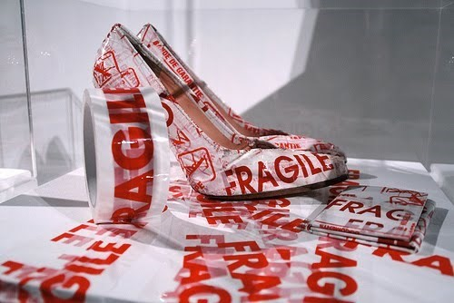 Margiela Fragile Tape Heels (2006)