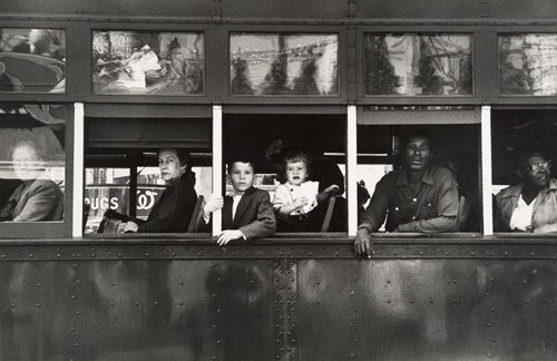 Trolley-New Orleans 1955