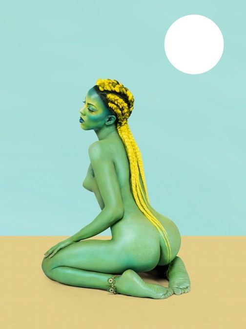 """Untitled in the Rage (Nibiru Cataclysm)"", Juliana Huxtable"