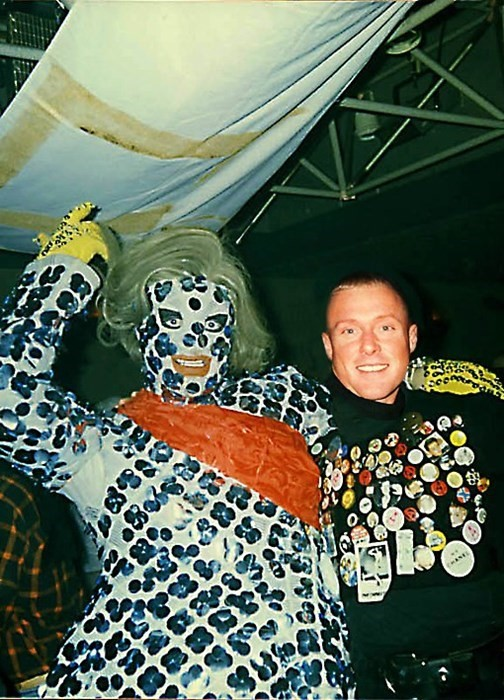 Leigh Bowery and Alex Gerry