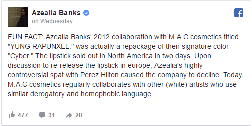 azealia banks mac