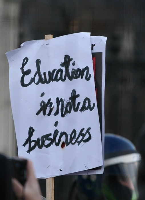 education is not a business