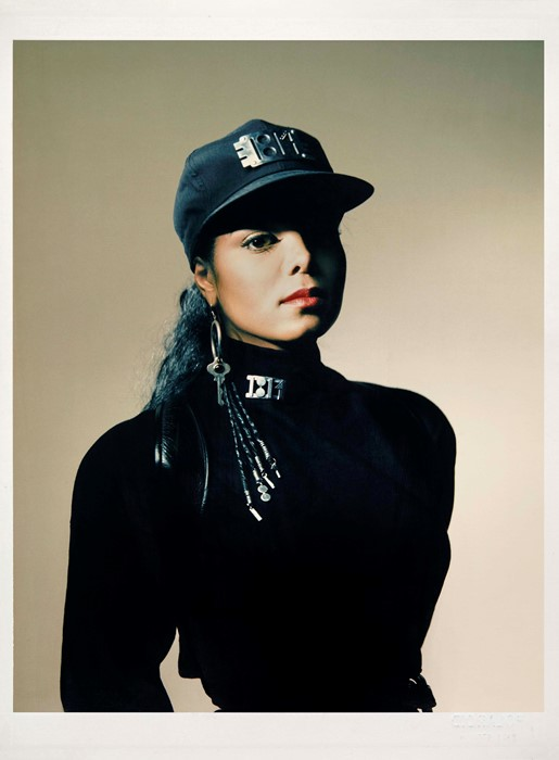 Janet Jackson, Rhythm Nation 1814, photographed by Guzman