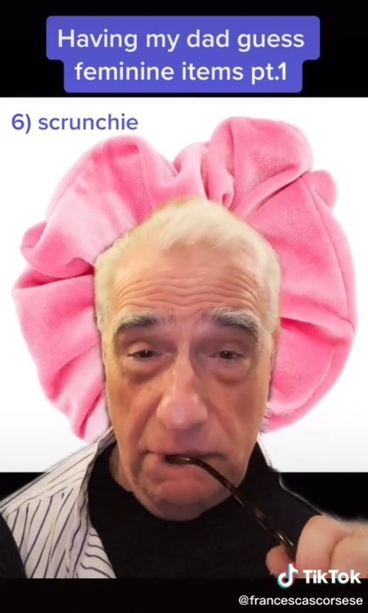 Martin Scorsese TikTok video