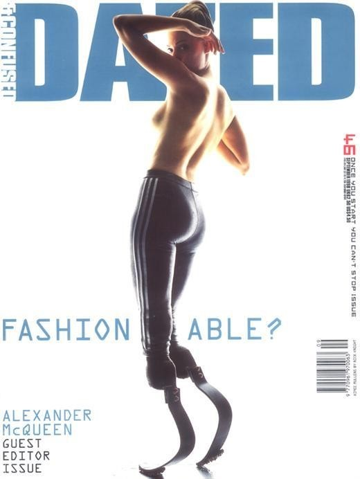 Dazed and Confused Issue 46, Access-Able, Alexander McQueen