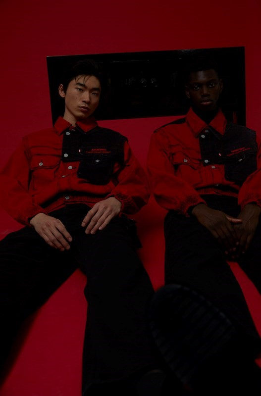 Feng Chen Wang pays tribute to workers with Levi's