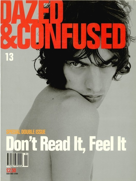 Richard Ashcroft's Dazed & Confused cover issue 13 1995