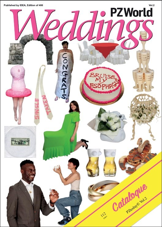 PZWorld Wedding is a bridal magazine dragged up from the depths of hell